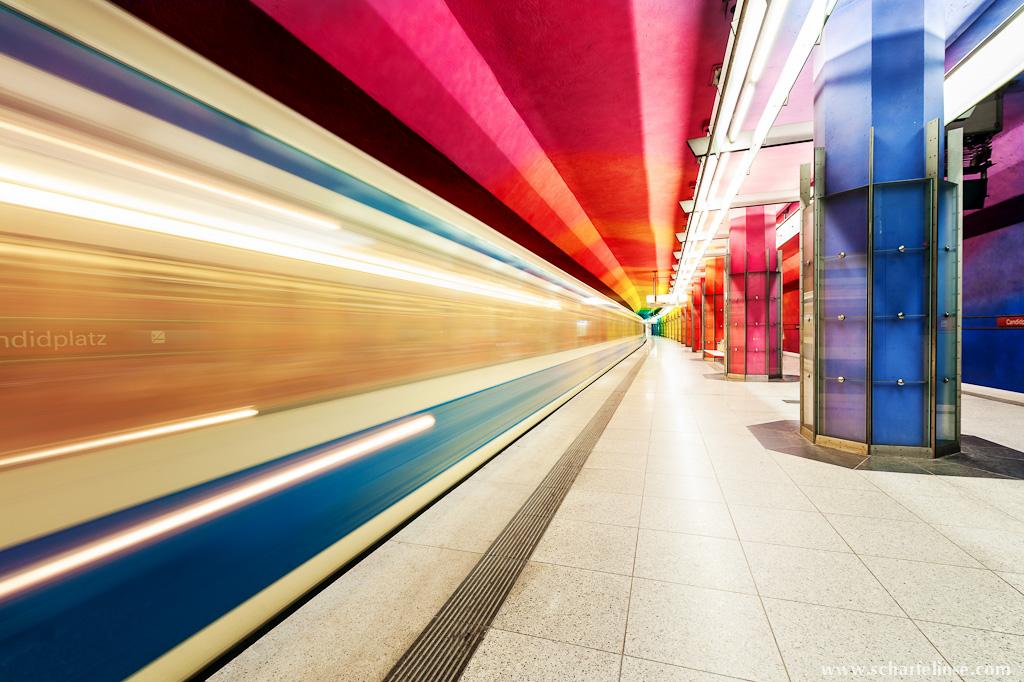 Münchner U-Bahnhöfe
