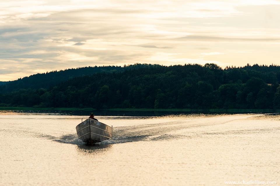 Der Fischer am See – ein Mann, ein Wort;)