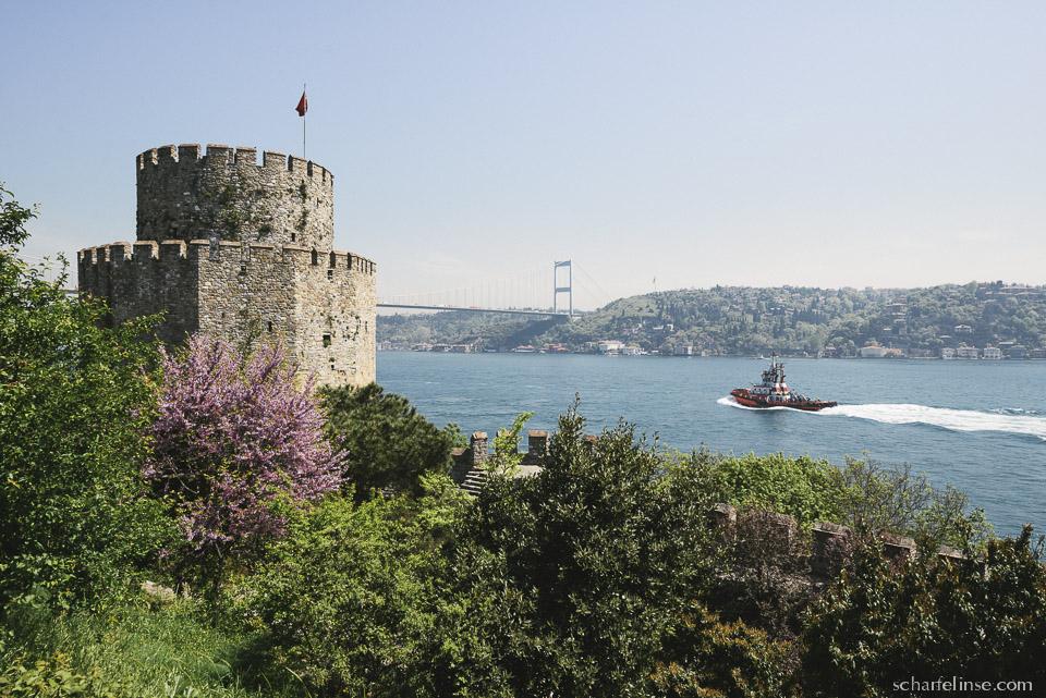 Istanbul delight – Entspannung auf der RumeliHisari