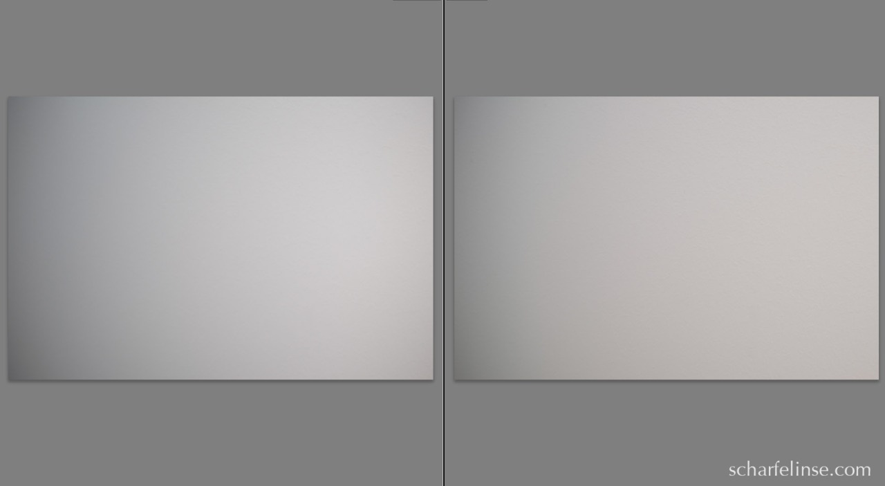 Nach links geshiftet. Links f3.5, rechts f8.0.